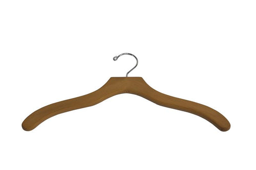 Wooden Top Hanger 12-Pack