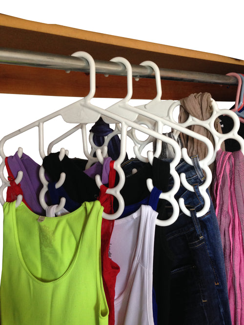 Hang a Bunch¨ Multi-Purpose Plastic Hanger