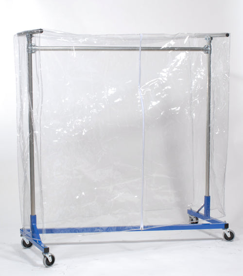 Clear Cover for Garment Rack (5'L x 5'H)