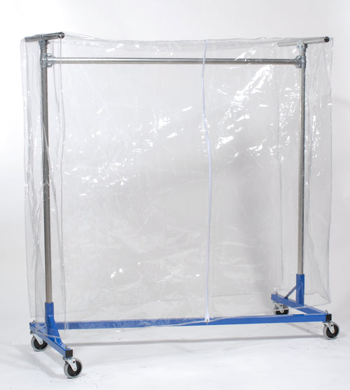 Clear Cover for Garment Rack (5'L x 6'H)