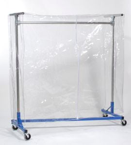 Clear Cover for Garment Rack (4'L x 5'H)