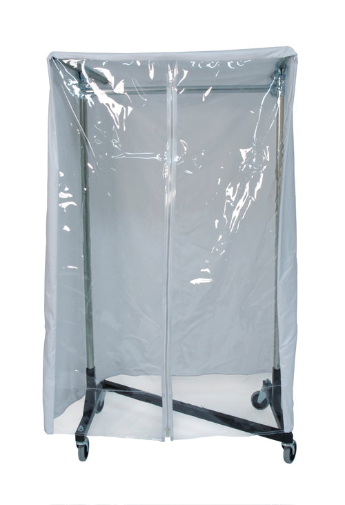 Quality Fabricators® Heavy Duty Cover for 3' Garment Rack