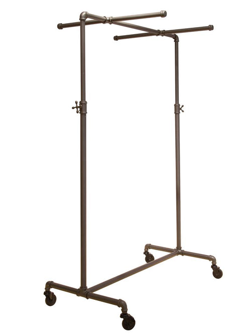 Adjustable Ballet Bar Rack with Two Cross Bars