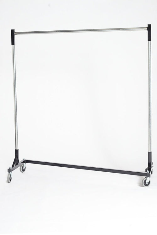 Quality Fabricators¨ Heavy duty Z-Rack with 5ft base and 5ft uprights with quickrail