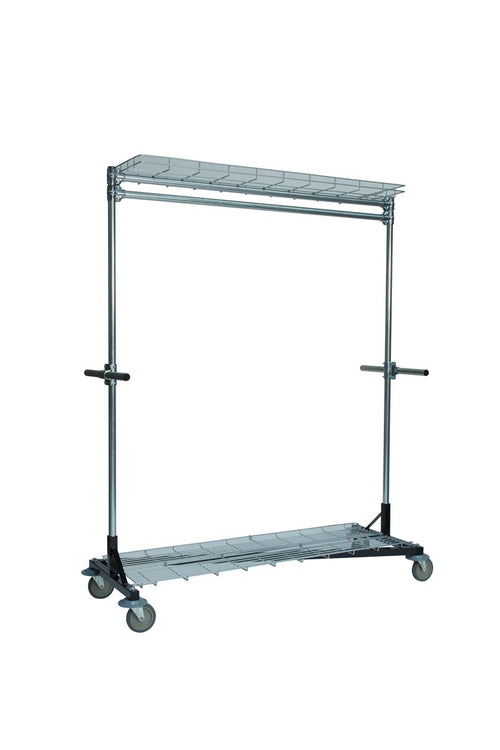 Quality Fabricators® Heritage Z-Rack - Base 5' x 6' Uprights