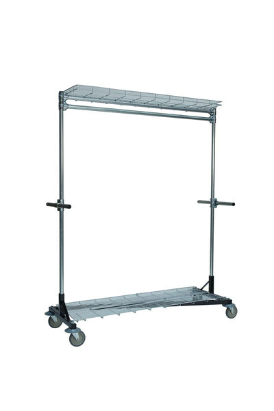 Quality Fabricators¨ Heritage Z-Rack - Base 5' x 7' Uprights