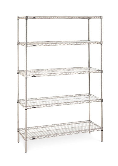 Starter Shelving Unit 5-Shelf| Rack Size/Height| 5-Shelf (18W x 48L x 74H)