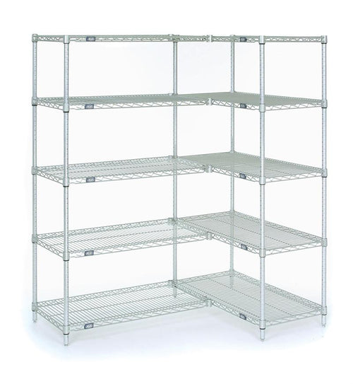 Starter and Add On Shelving Unit 5-Shelf| Height| 5-Shelf (18W x 48L x 74H)