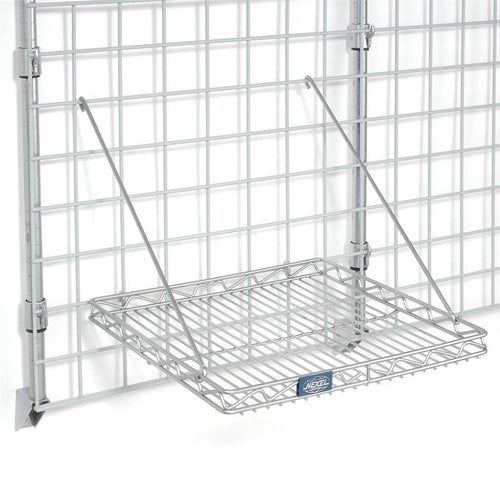Grid Wall - Two Square Shelves