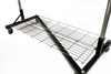 Folding Bottom Shelf for 4' Quality Fabricators¨ Heavy Duty Z Rack
