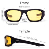 Frame-Matte Black, Lens-Yellow