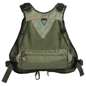 Bassdash Adjustable Size Fly Fishing Vest Multi-Pocket with Water Bottle Holder