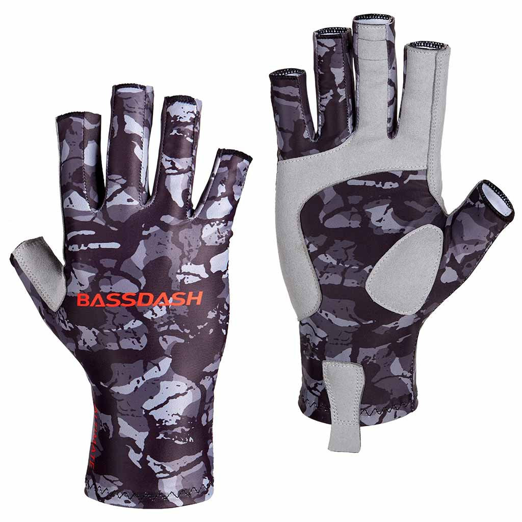 Camouflage Gloves Hunting Fishing Sun Protection Gloves Anti-Slip Gainter Gloves