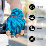 Bassdash ALTIMATE Sun Protection Fingerless Hunting Fishing Gloves