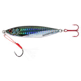 Bassdash Shadow Vertical Jig Lures 40/60 Grams For Saltwater Freshwater Fishing