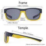 Frame – Grey & Yellow/Lens – Grey