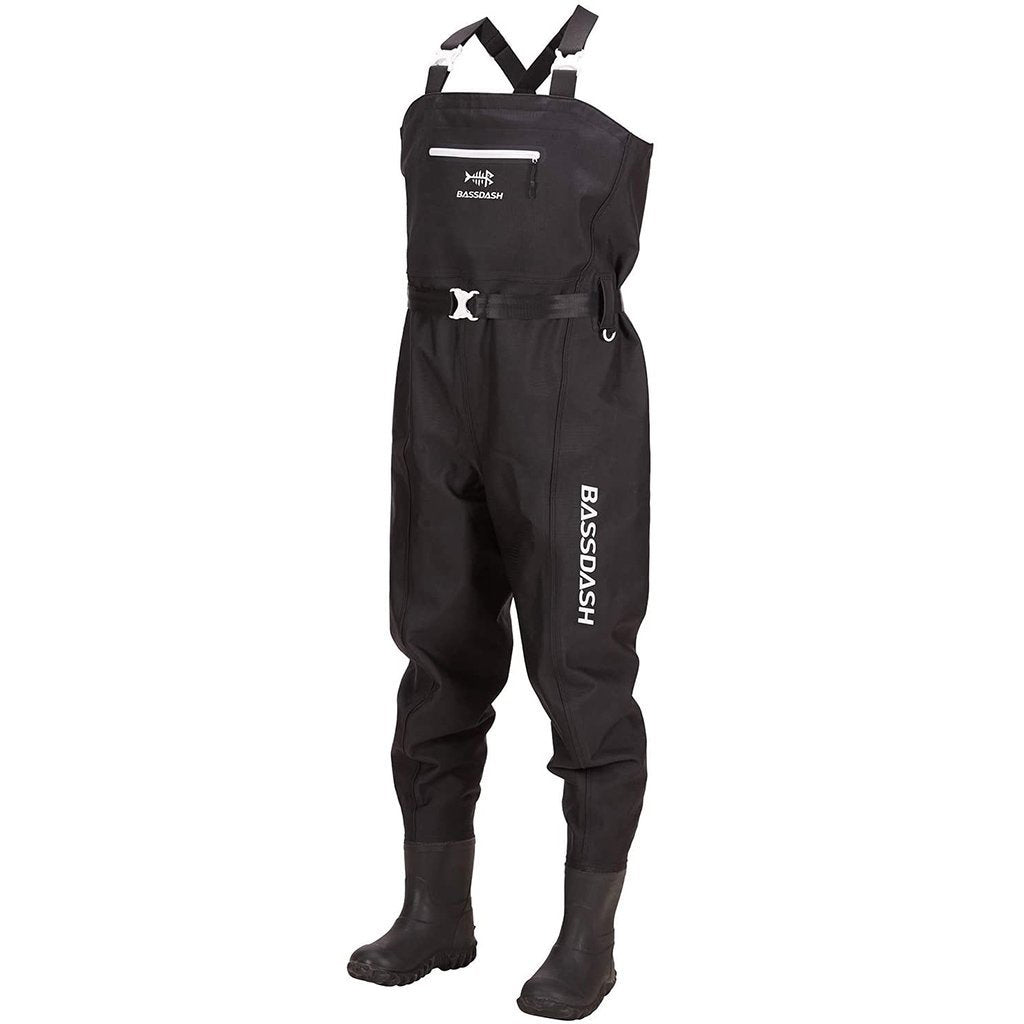 Bassdash 3D Boot Foot High Strength PVC Fishing Hunting Chest Waders