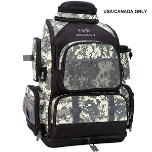 Bassdash Water Resistant Fishing Tackle Backpack [3670] Camouflage Tactical Bag