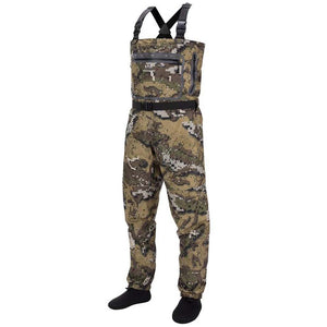 Bassdash Waterproof Camo Chest Stocking Foot Fishing Hunting Waders