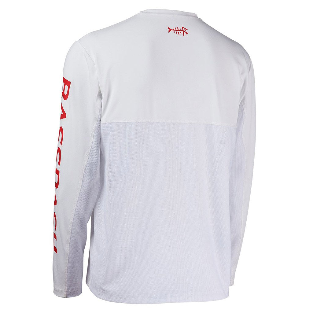 White/Red Logo