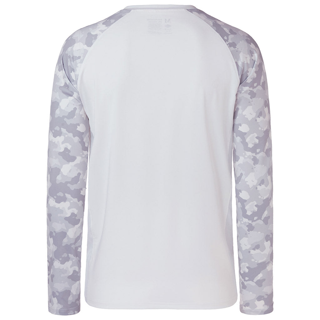 White/Light Grey Camo