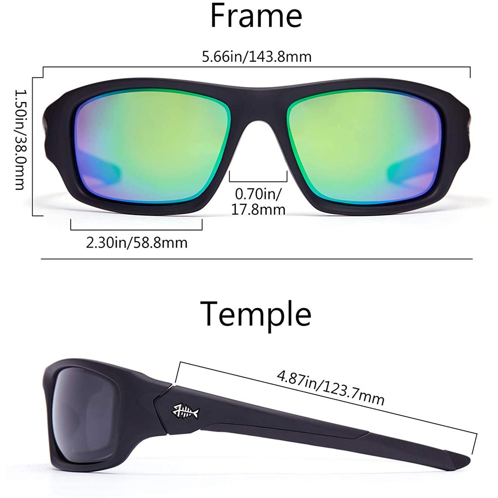 Frame-Matte Black/Lens-Green Mirror
