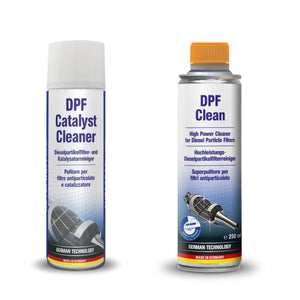 AUTOPROFI DPF / Catalyst Cleaner Spray - 400ml & Diesel DPF CLean - 250ml -  KIT - Just European