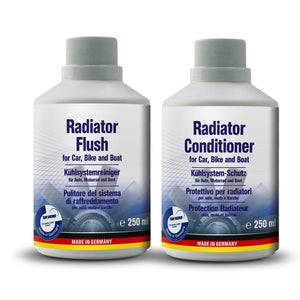 AUTOPROFI Radiator Flush 250ML & Conditioner 250ML - KIT - Just European