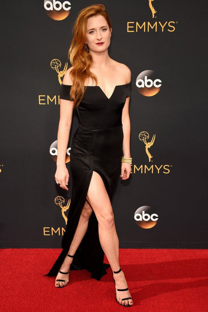 Grace Gummer wears Galvan at the Emmys