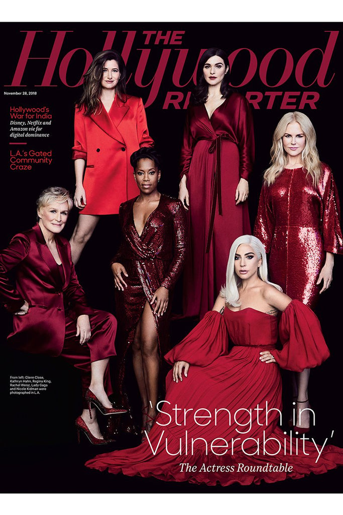 Regina King wears Galvan for The Hollywood Reporter cover shoot