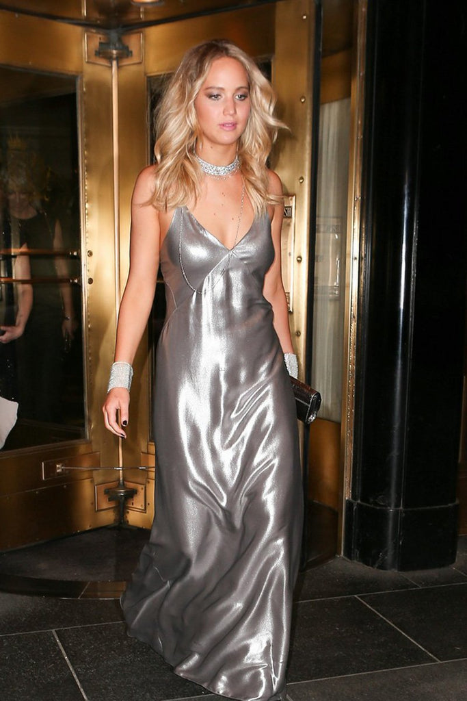Jennifer Lawrence wears Galvan at the Met Gala after party