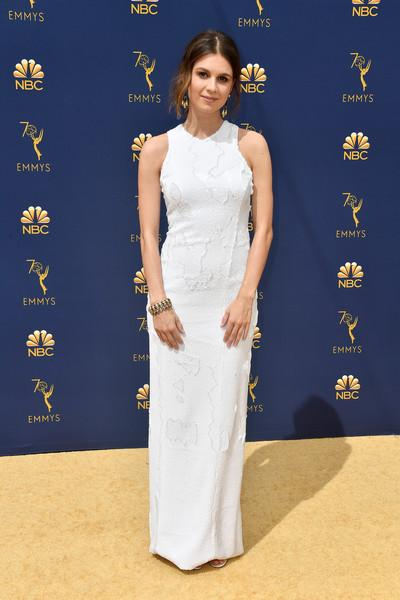 Katja Herbers wears Galvan to the Emmys