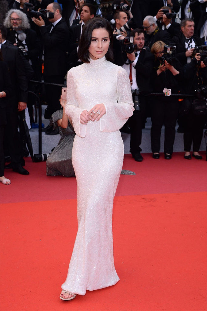 Lena Meyer-Landrut wears Galvan on Cannes Red Carpet
