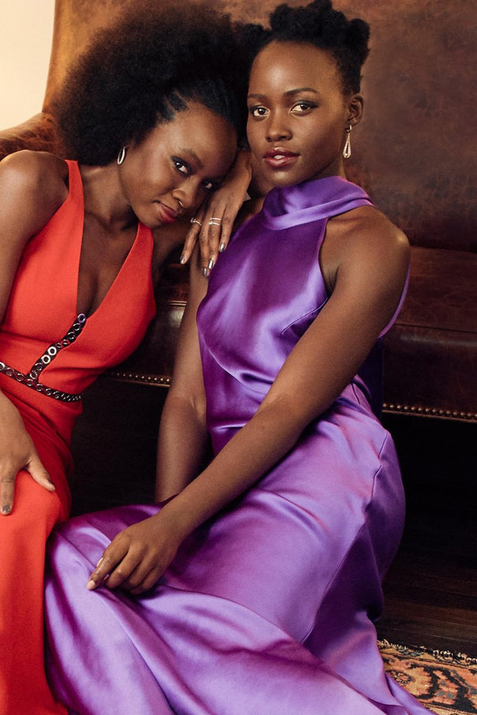 Lupita Nyong'o wears Galvan for People Magazine