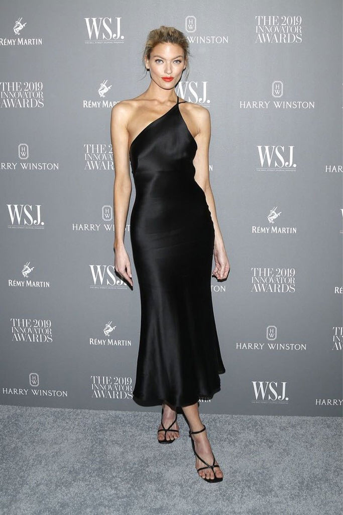 Martha Hunt wears Galvan at WSJ Innovator Awards