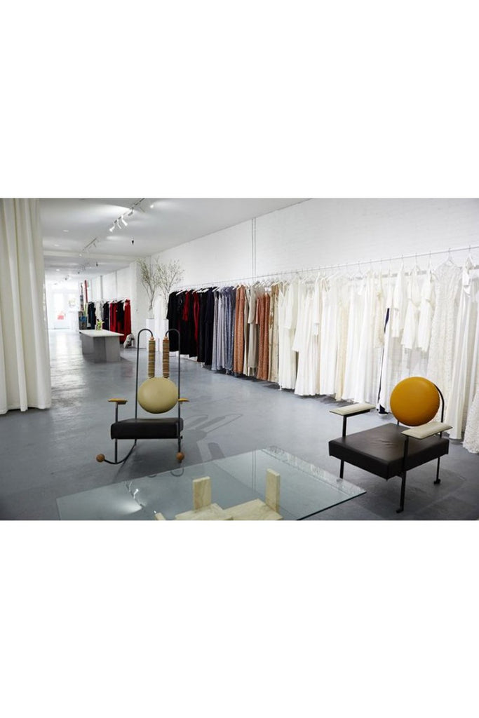 'Find your new go-to slip dress (or three) in Galvan's first store, opening today in Soho' by Vogue.com