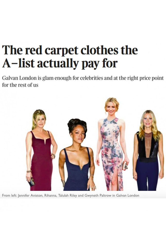 'The Red Carpet Clothes The A-list Actually Pay For' by The Times