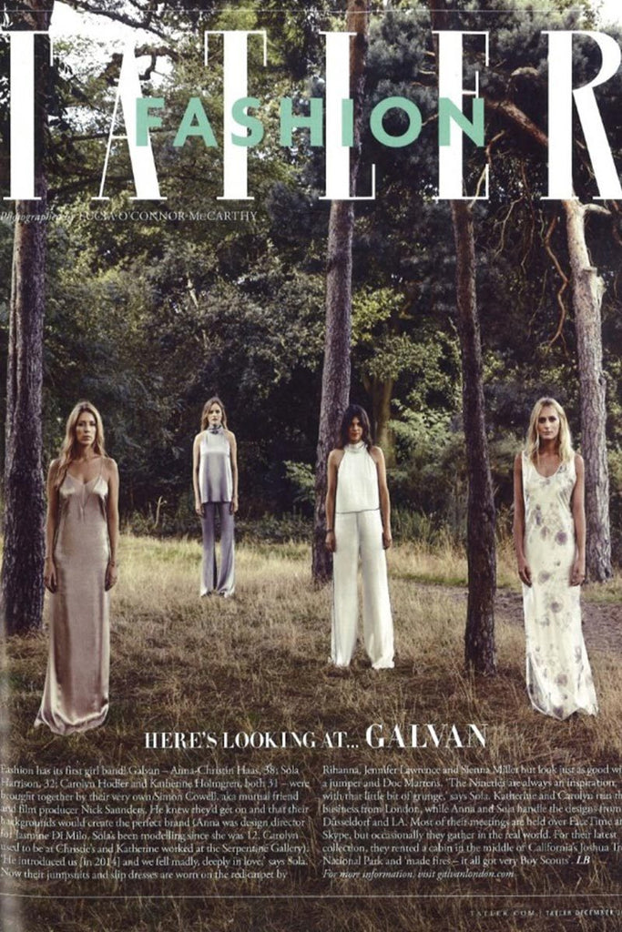 'Here's Looking At… Galvan' by Tatler (UK)