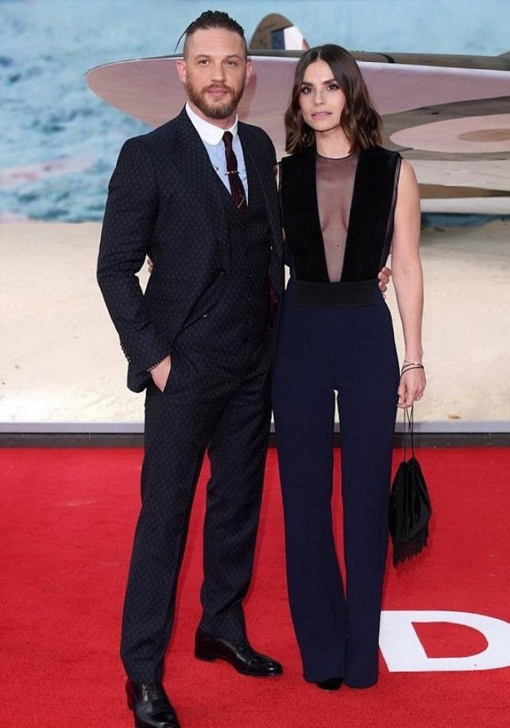 Charlotte Riley wears Galvan to the premiere of 'Dunkirk'
