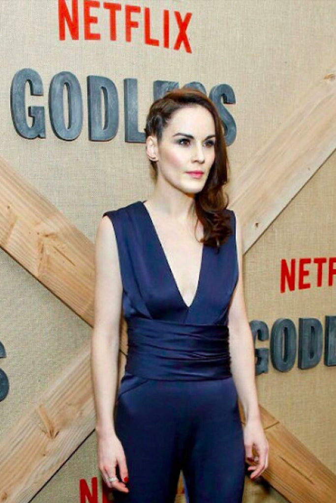Michelle Dockery wears Galvan to the premiere of 'Godless'