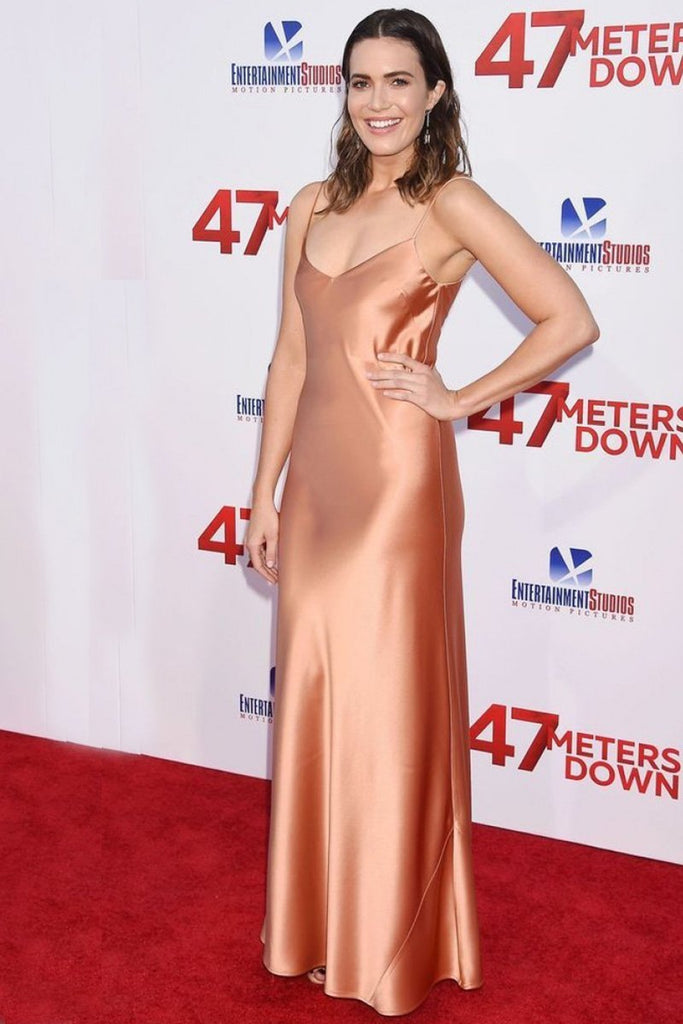 Mandy Moore wears Galvan to the '47 Meters Down' film premiere