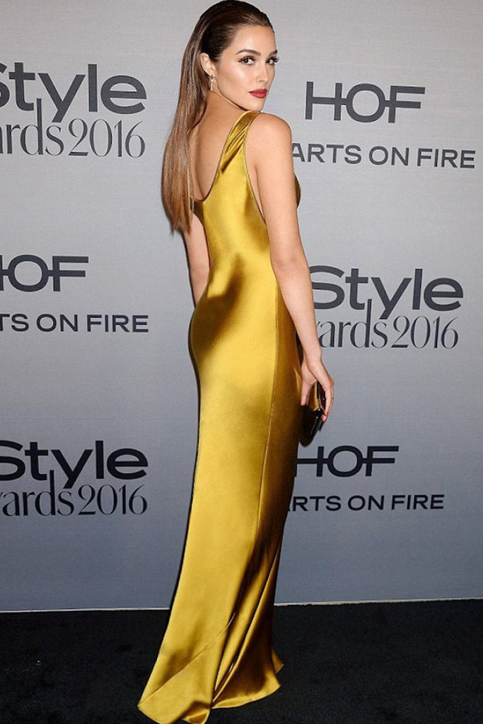 Olivia Culpo wears Galvan to the InStyle Awards