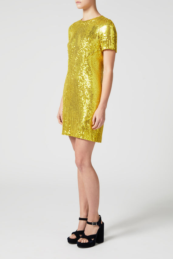 Clara Dress - Yellow