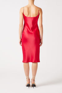 Christiane Dress - Raspberry