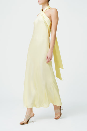 Cropped Pandora Dress - Buttermilk