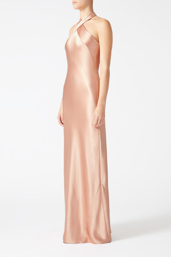 Eve Dress - Rose Gold