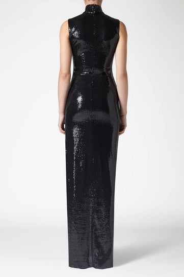 Galaxy Dress - Black