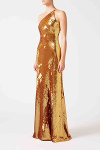 Gilded Roxy Dress