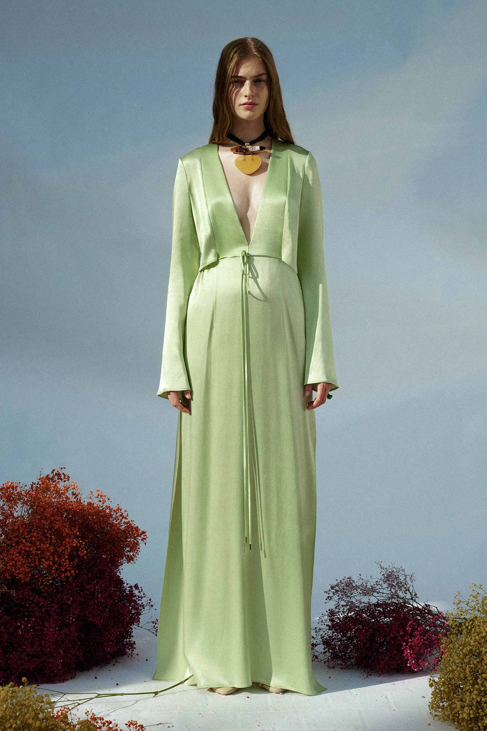 Lido Dress - Light Apple