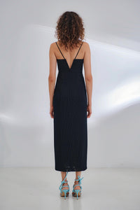 Manhattan Bustier Dress - Black